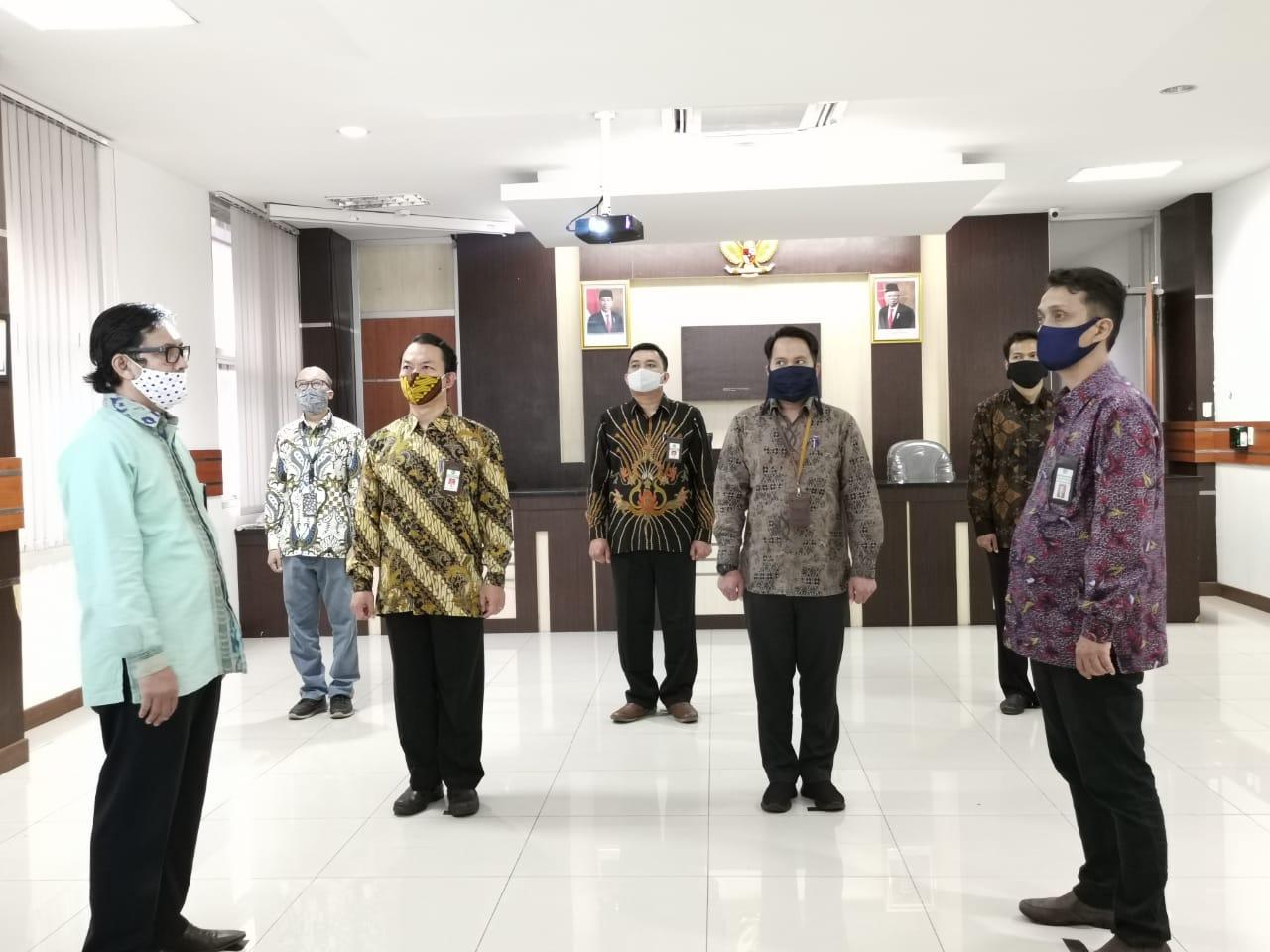 Pelantikan Daring/Online Pejabat Fungsional Penilai Pemerintah KPKNL Tangerang I