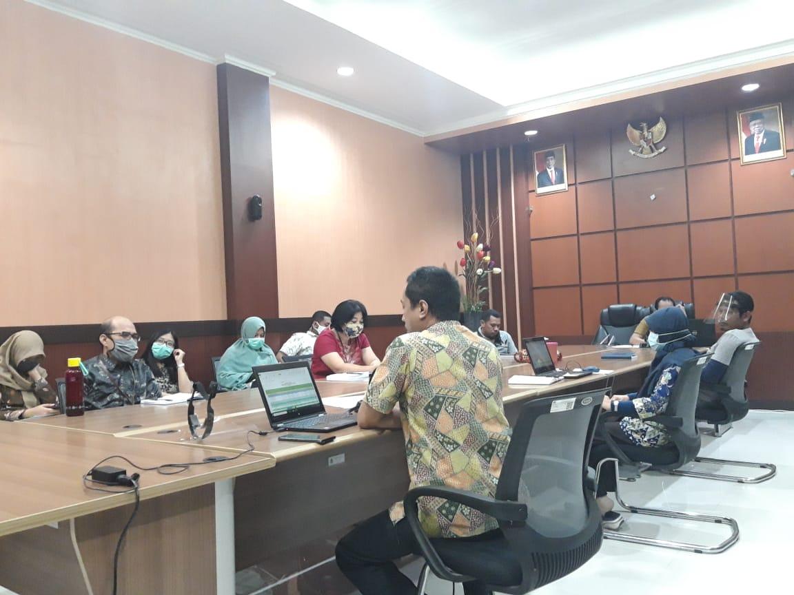 Rapat DKO Triwulan II KPKNL Kendari: New Normal, New Spirit