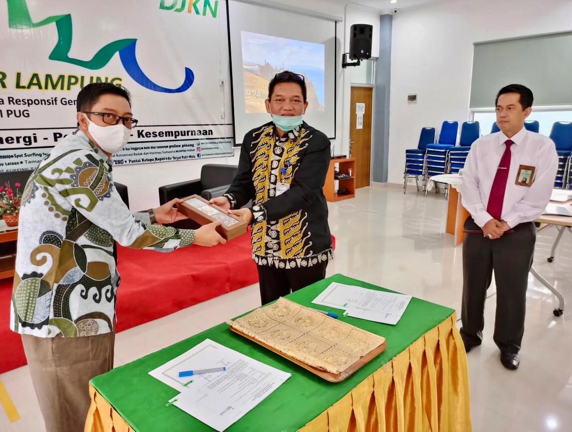 KPKNL Bandar Lampung Terima Barang Titipan KPK