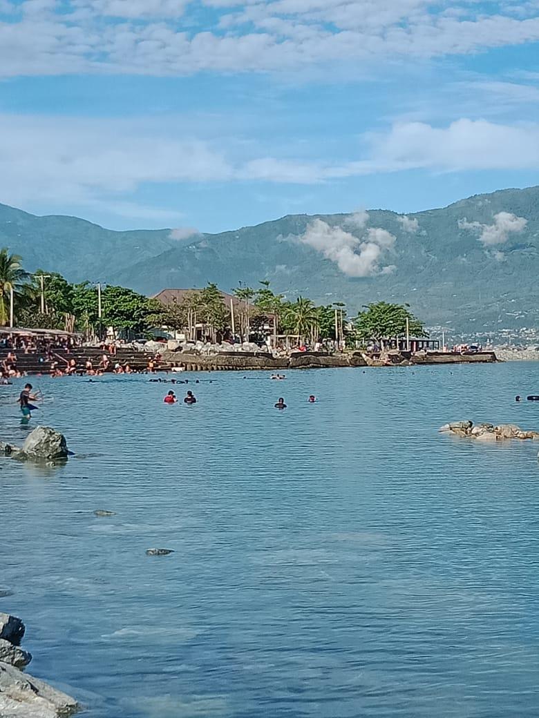 Daya Tarik Pantai Talise dan Kampung Nelayan di Palu Ramai Dikunjungi Warga Lokal