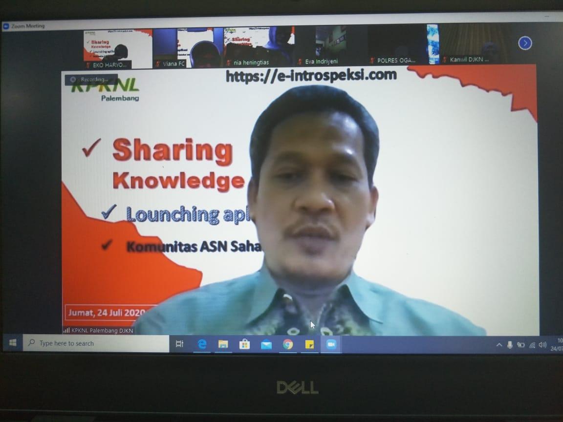 Webinar Sharing Knowledge Kompetensi Integritas, Launching Aplikasi e-introspeksi dan Komunitas ASN Berintegritas