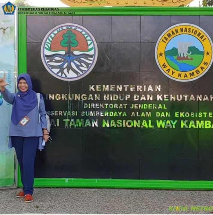 Debut Pertama PFPP KPKNL Metro Di Taman Nasional Way Kambas