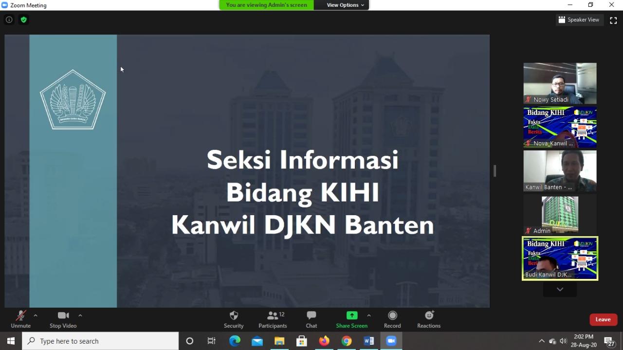Rapat Pembinaan dengan Kantor Pelayanan : Kehumasan DJKN menuju Excellent Strategic Communication
