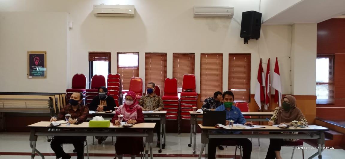 Rapat Koordinasi KPKNL Malang dengan Kanwil Kemenkumham