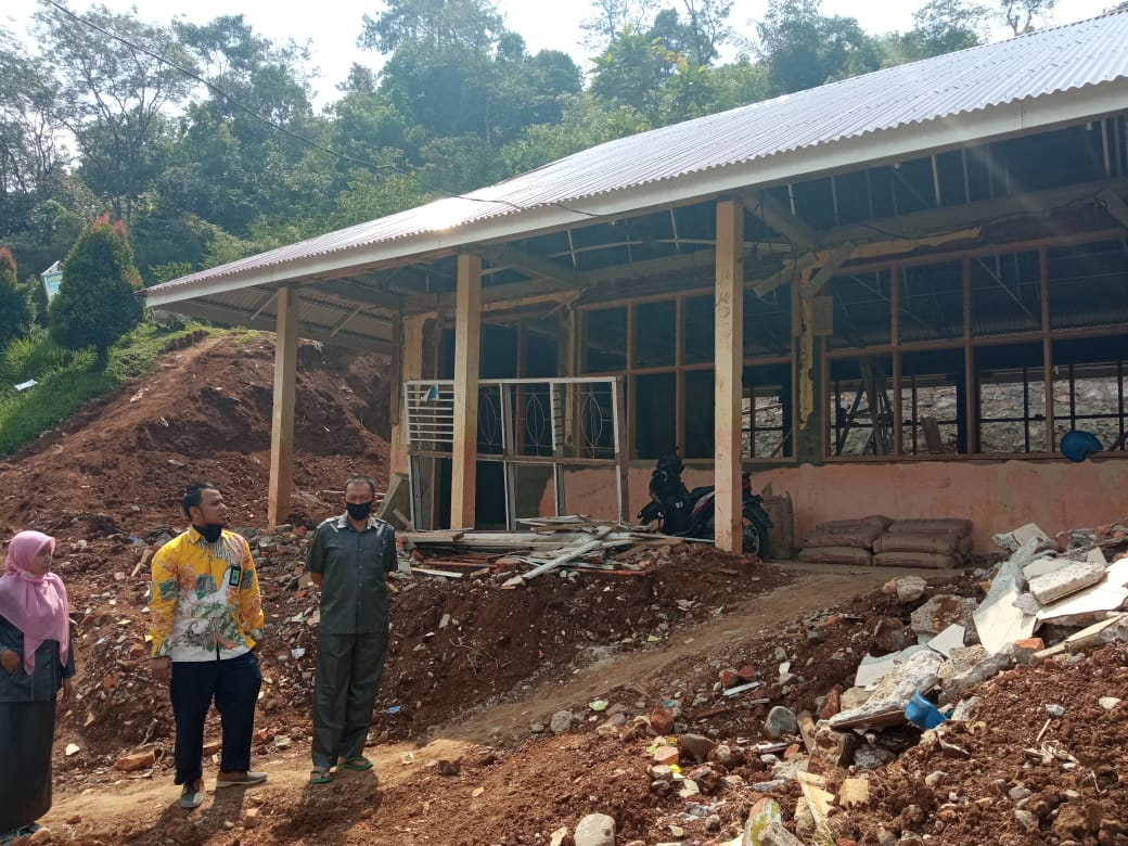 Tindaklanjut Penghapusan BMN Terdampak Longsor, KPKNL Bukittinggi Temukan potensi PNBP Material Bongkaran