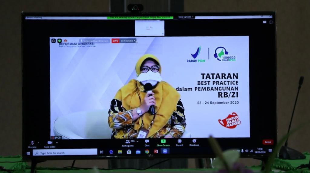 BPOM Gelar Talkshow Reformasi Birokrasi, KPKNL Bukittinggi Hadir sebagai Narasumber