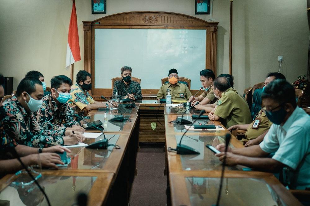 Kunjungan Kakanwil DJKN Kaltimtara ke Kabupaten Kutai Timur