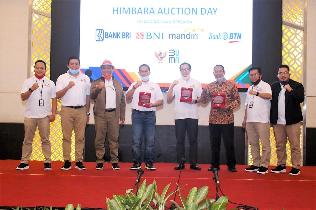 Ikut Berpartisipasi, KPKNL Kendari Hadiri HIMBARA Auction Day