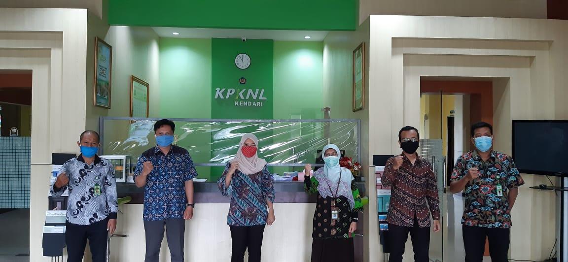 Sinergi KPKNL Kendari dan Kanwil BPN Sultra Demi Ciptakan Pelayanan Lelang yang Maksimal