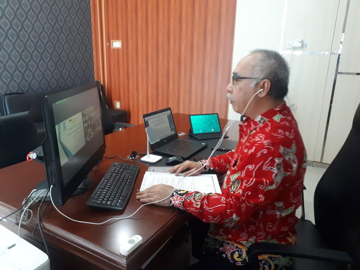 Rapat Monev Kanwil DJKN Kalselteng dengan P.T. BRI (Persero) Wilayah Banjarmasin
