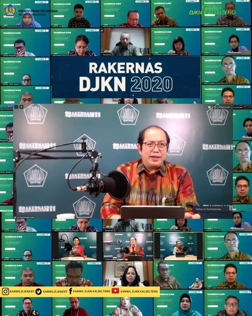 Rakernas DJKN 2020 Ditutup Secara Resmi oleh Dirjen