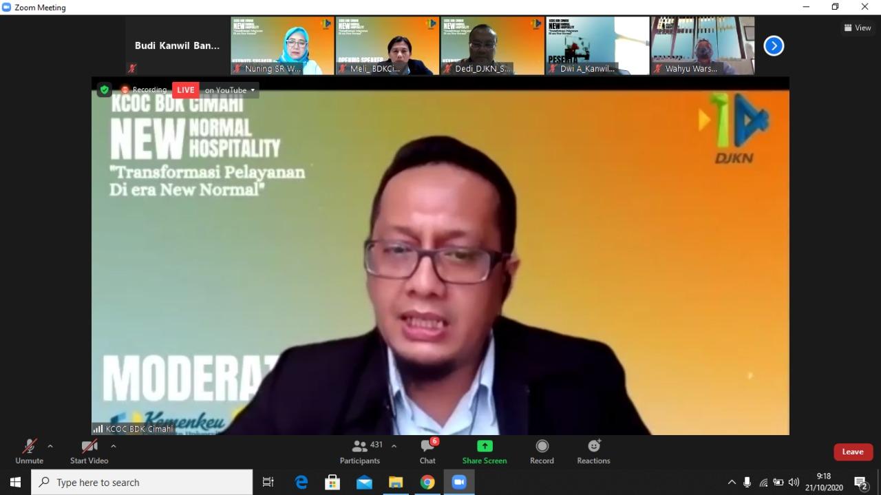 """""""New Normal New Hospitality : Transformasi Standar Pelayanan di Era New Normal"""""""