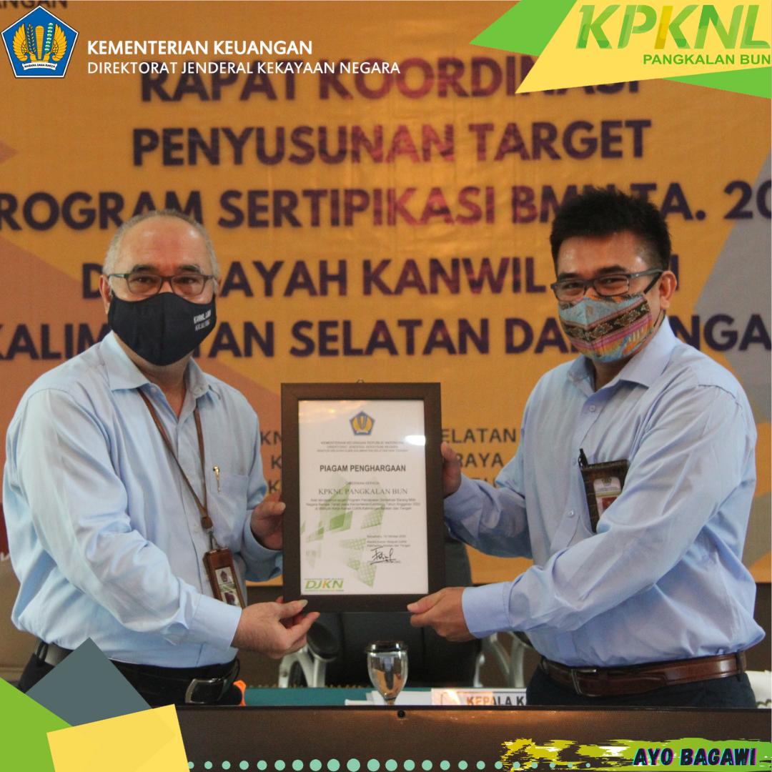 Rapat Koordinasi Penyusunan Target Sertipikasi BMN TA. 2021 di Lingkungan Kanwil DJKN Kalimantan Selatan dan Tengah