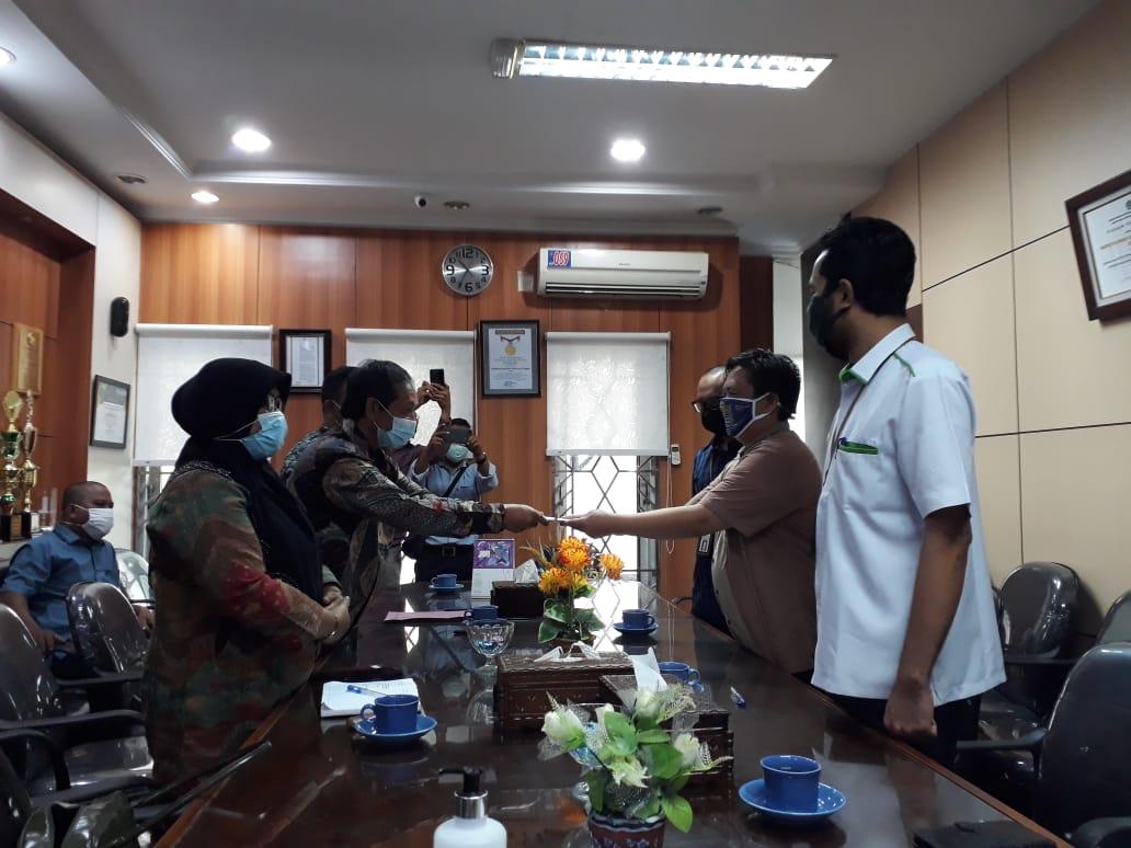 Penandatanganan Berita Acara Inventarisasi BMN Eks BRR NAD-Nias oleh KPKNL Banda Aceh dan Pemkab Aceh Barat