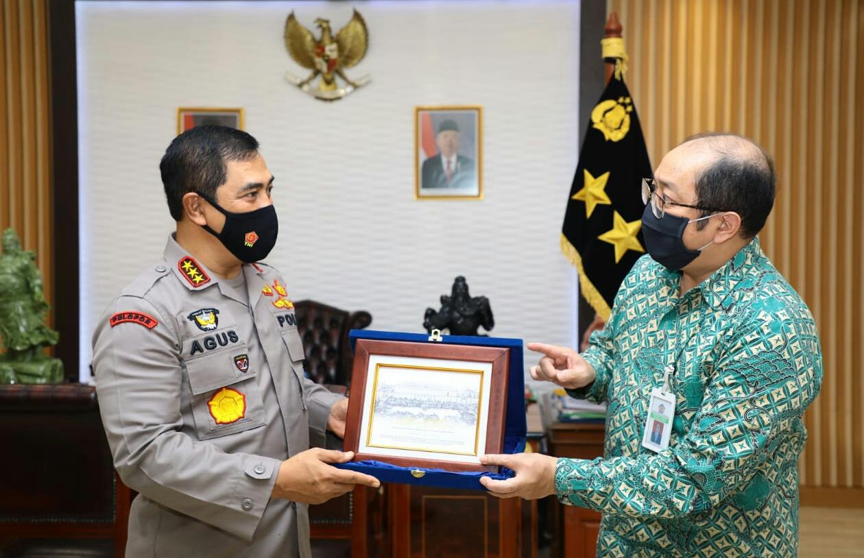 Dirjen Kekayaan Negara Temui Kabaharkam Polri Bahas Koordinasi dan Penandatanganan PKS