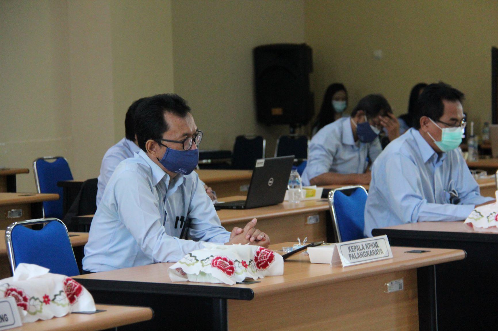 KPKNL Palangka Raya Ikuti Kick Off Kegiatan Gebyar Daring 14 Tahun Pengelolaan Kekayaan Negara dan Lelang