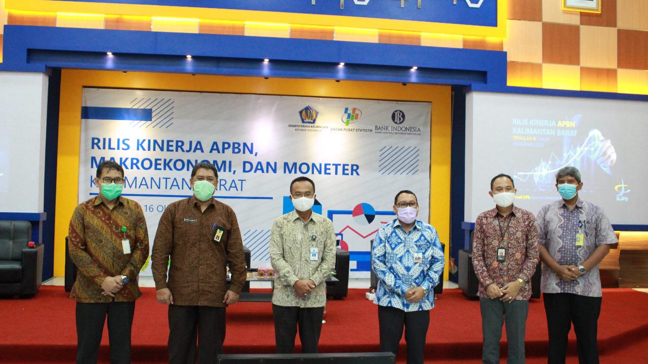 Kanwil DJKN Kalbar Hadiri Rilis Kinerja APBN Kalimantan Barat