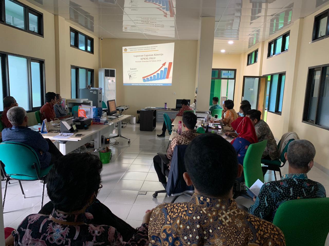 Optimalkan Kinerja, KPKNL Palu Gelar Rapat Dialog Kinerja Organisasi (DKO)