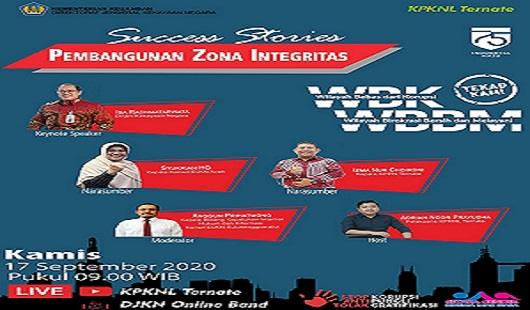 Kepala Kanwil DJKN Aceh Sharing Success Stories Membangun Zona Integritas
