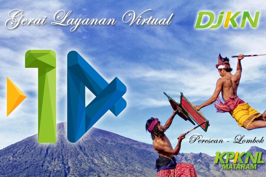 Meriahkan HUT DJKN ke-14, KPKNL Mataram Selenggarakan Gerai Layanan Virtual