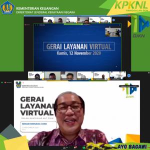 DJKN Adakan Gerai Layanan Virtual bersama Stakeholder