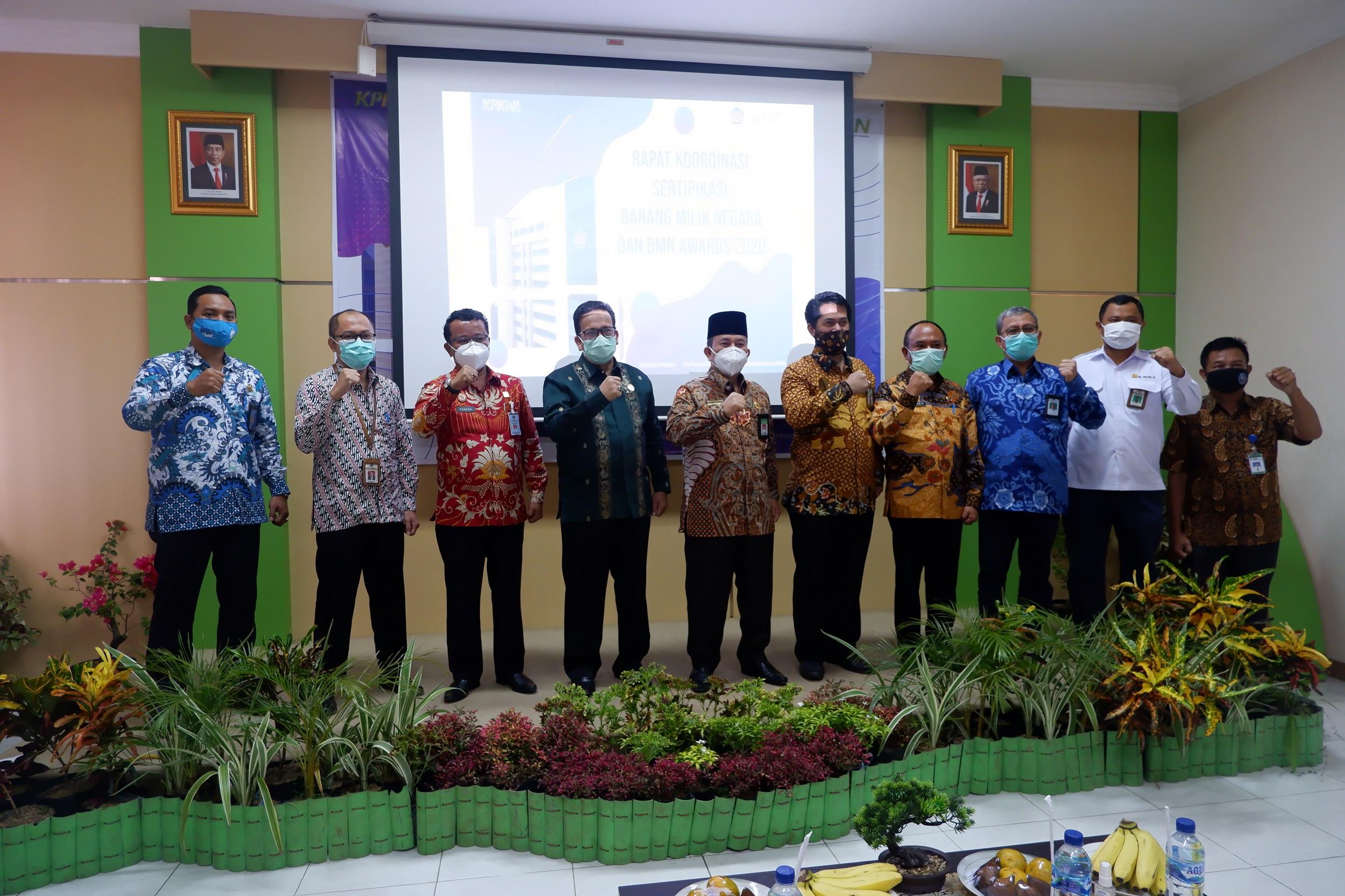Kelola Aset Negara, KPKNL Bengkulu Berikan Apresiasi Kepada Satuan Kerja di Wilayah Provinsi Bengkulu