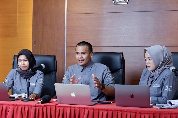 Virtual Visit Enam Besar Lomba Kompetisi Inovasi (KOIN), Tim KOIN Balinusra hadirkan mitra