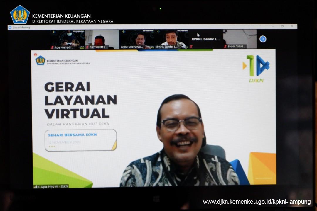 Gerbang Awal Pelayanan KPKNL secara Virtual