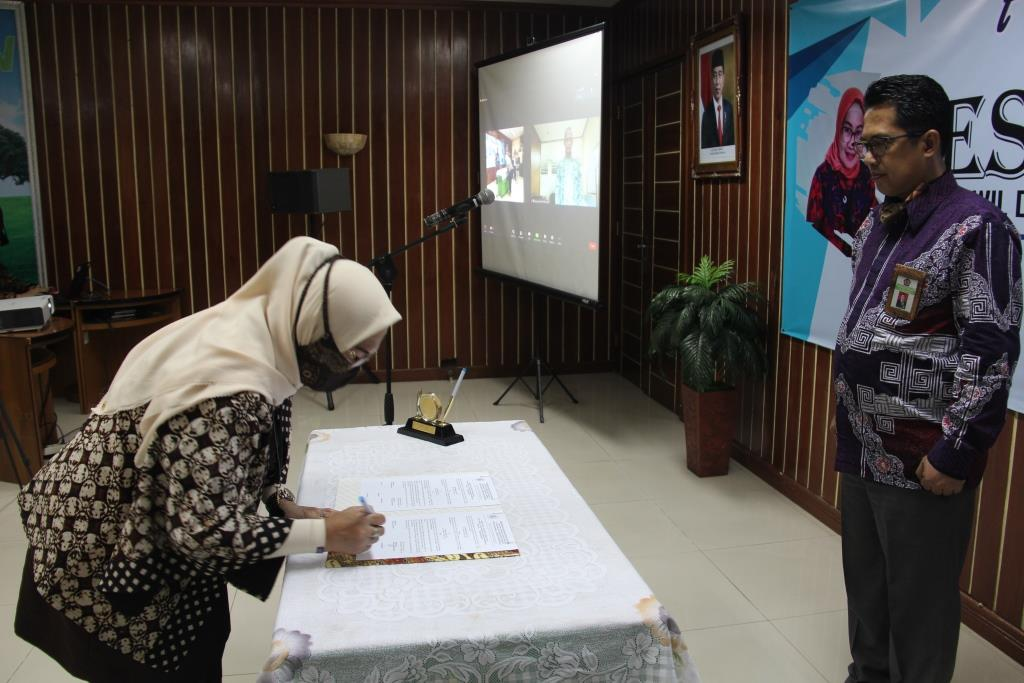 Serah Terima Jabatan Pejabat Administrator Kanwil DJKN Lamkulu