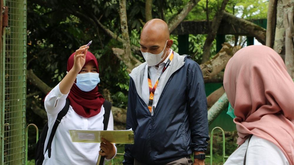 KPKNL Bukittinggi Lakukan Penilaian BMD pada Taman Margasatwa Bukittinggi