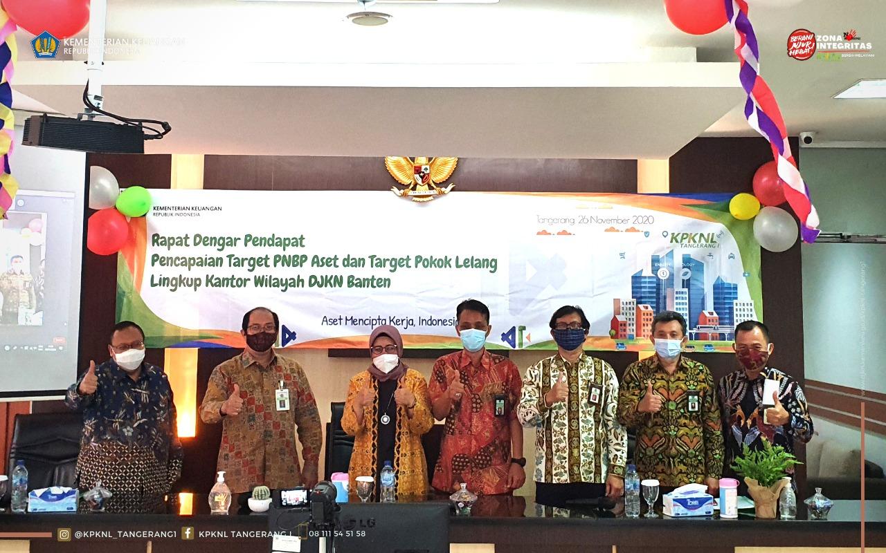 Sapa KPKNL Tangerang I dan KPKNL Tangerang II, Dirjen KN ajak untuk selalu berpikir aktif dalam pemanfaatan aset