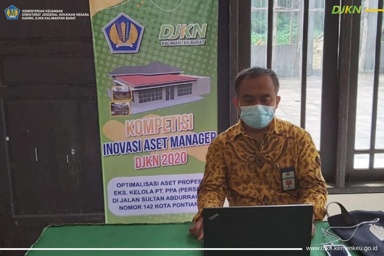Virtual Visit 6 Besar Lomba Kompetisi Inovasi Aset Manager (KOIN)