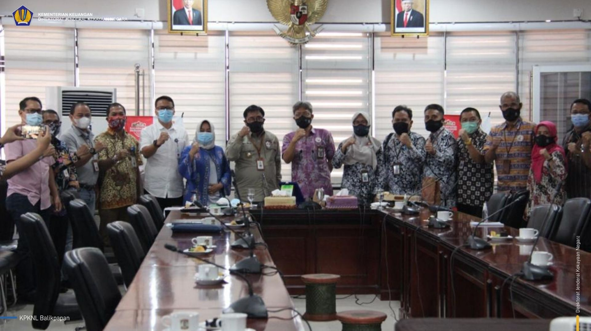 Tingkatkan Sinergi, KPKNL Dampingi Kanwil Kaltimtara Lakukan Kunker ke Pemkot Balikpapan