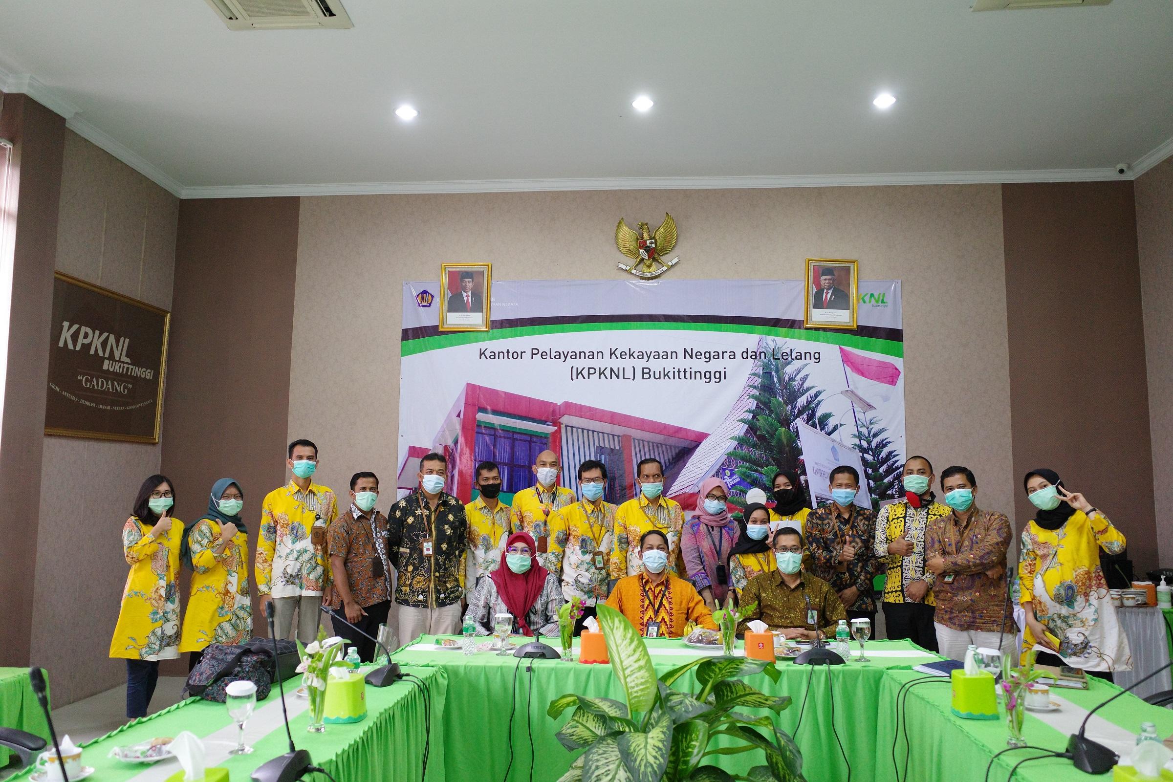 Kunjungan Kerja Kepala Kanwil DJKN Riau, Sumbar, dan Kepri