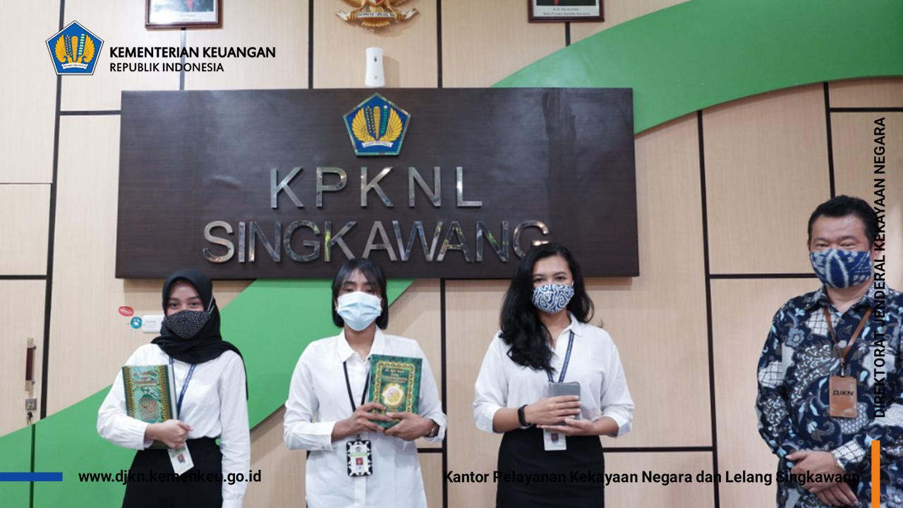 Pelantikan dan Pengambilan Sumpah PNS KPKNL Singkawang