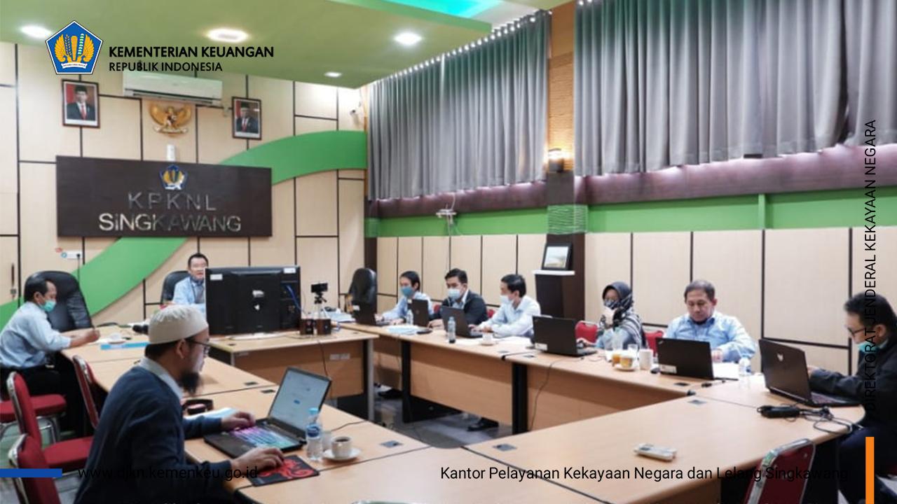 KPKNL Singkawang Menuju Zona Integritas Wilayah Bebas dari Korupsi