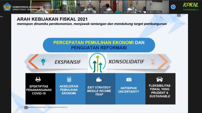 Persiapkan Rencana Kerja 2021 dengan Matang, KPKNL Tangerang II Adakan Focus Group Discussion