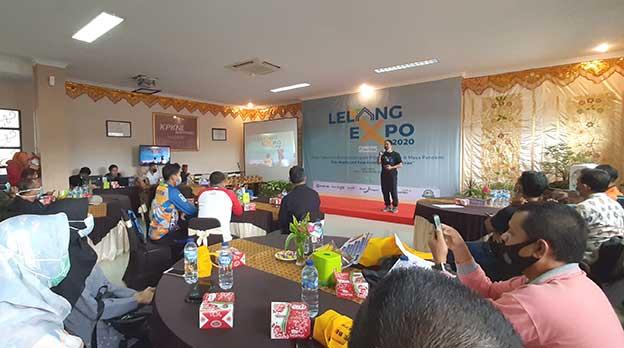 KPKNL Bukittinggi Gelar Lelang Expo Prioritas 2020