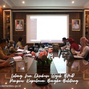 Pemprov Kepulauan Bangka Belitung Adakan Lelang Terhadap 102 Objek Kendaraan Melalui KPKNL Pangkalpinang
