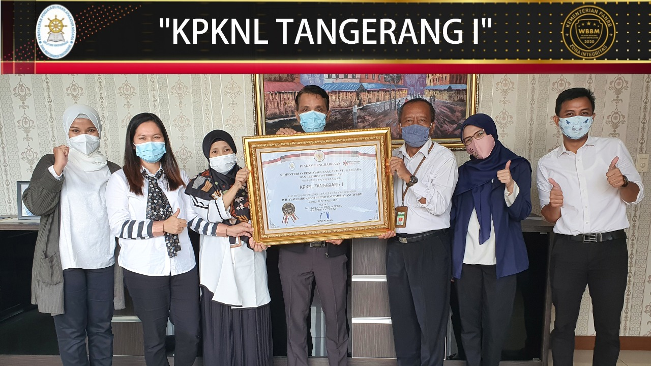 Kado Akhir Tahun, KPKNL Tangerang I Raih Predikat ZI WBBM