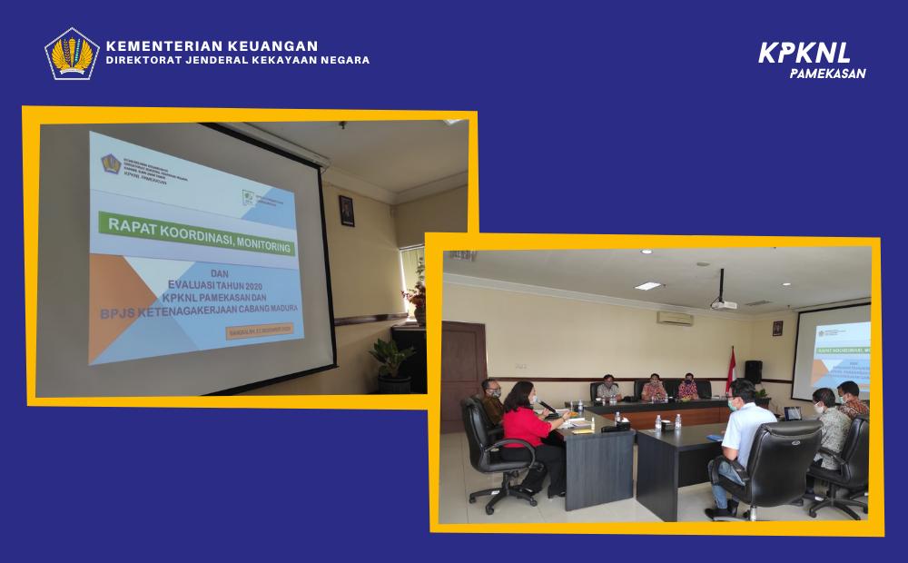 Rapat Koordinasi bersama BPJS Ketenagakerjaan Cabang Madura
