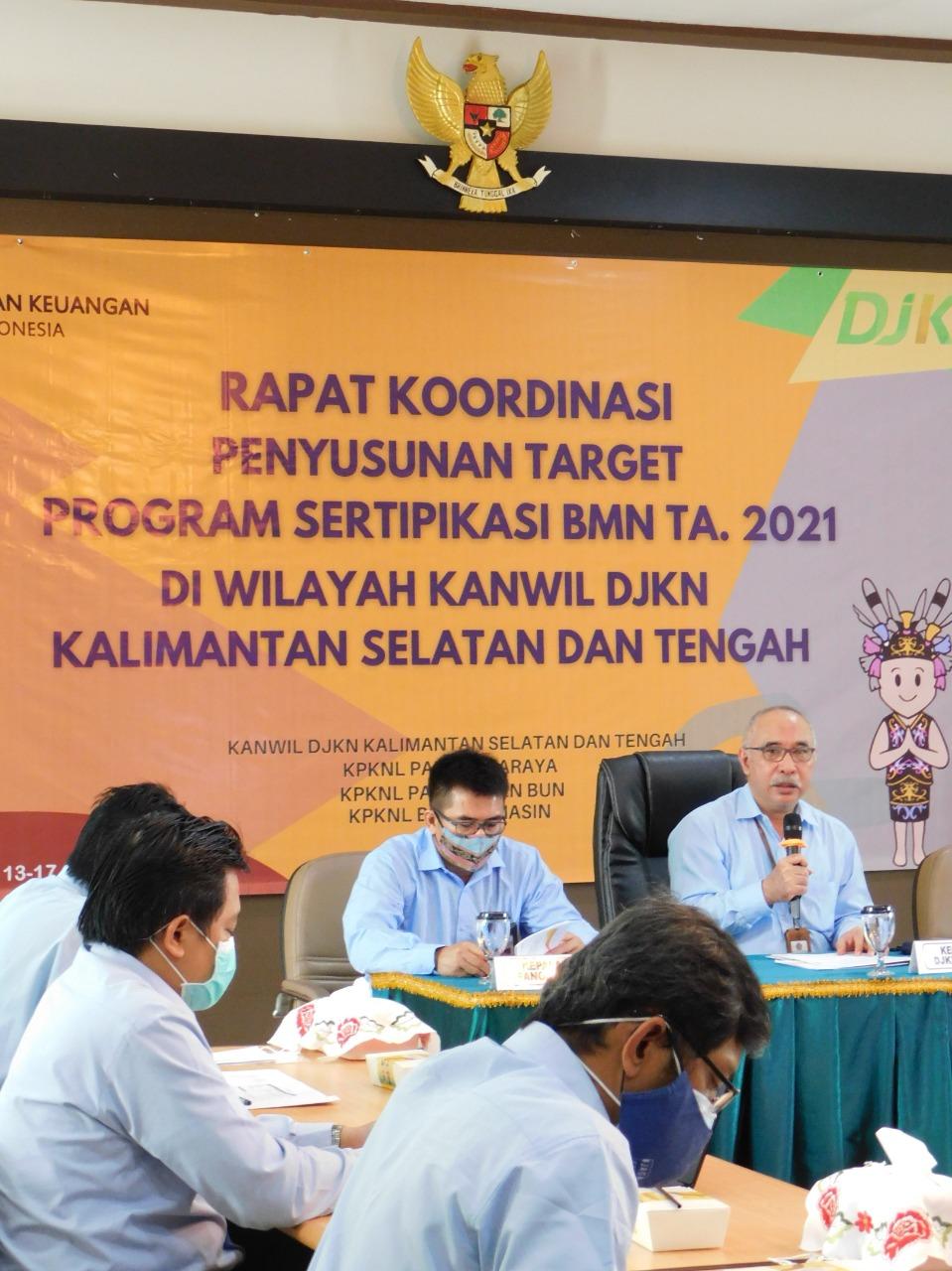 Rapat dan Koordinasi Program Sertipikasi : Satu Visi dan Misi untuk Tuntaskan Sertipikasi BMN