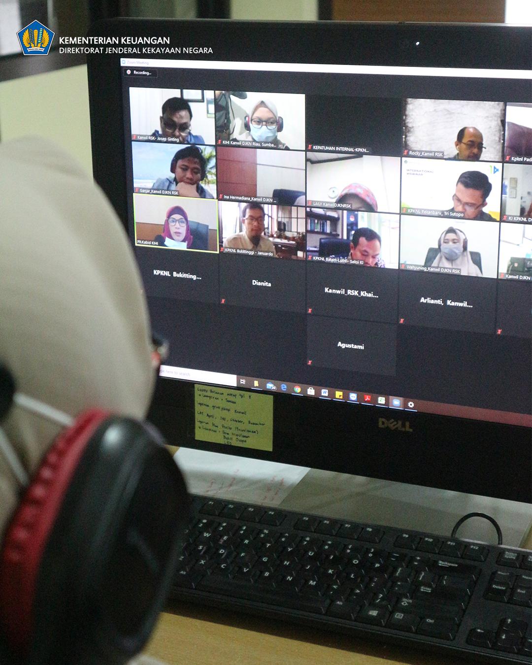 Rapat Penelaahan, Peta Strategi, IKU, Target IKU, Manual IKU, dan IKU Mandatory di Lingkungan Kanwil DJKN Riau, Sumbar, dan Kepri