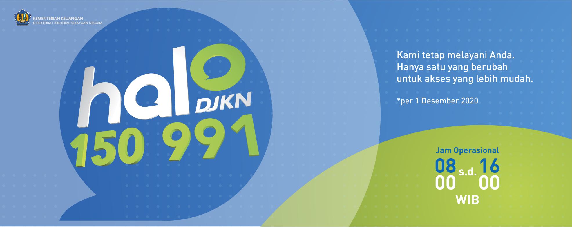 Call Center, Halo DJKN 150 991