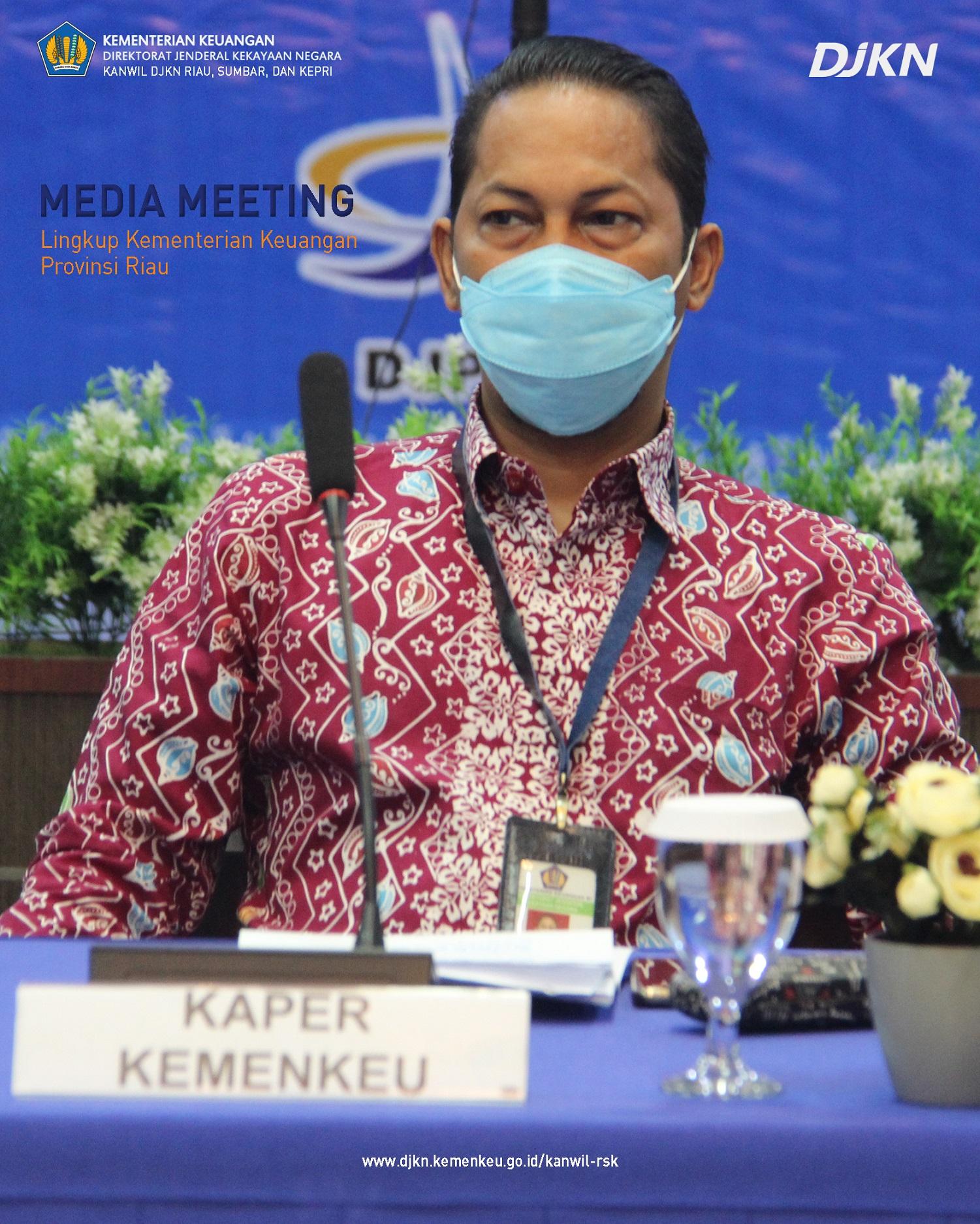 Gelar Konferensi Pers, Kanwil DJKN RSK Umumkan Capaian PNBP Pengelolaan Kekayaan Negara Tahun 2020 Rp128,38 miliar