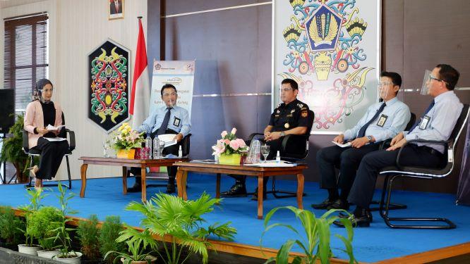 Konferensi Pers Pelaksanaan APBN Tahun Anggaran 2020 Provinsi Kalimantan Tengah
