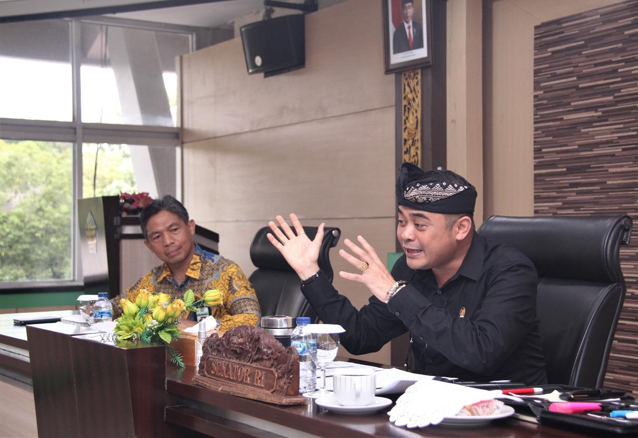 Menanggapi Aspirasi Layanan Lelang Bersama Komite I Bidang Hukum DPD RI