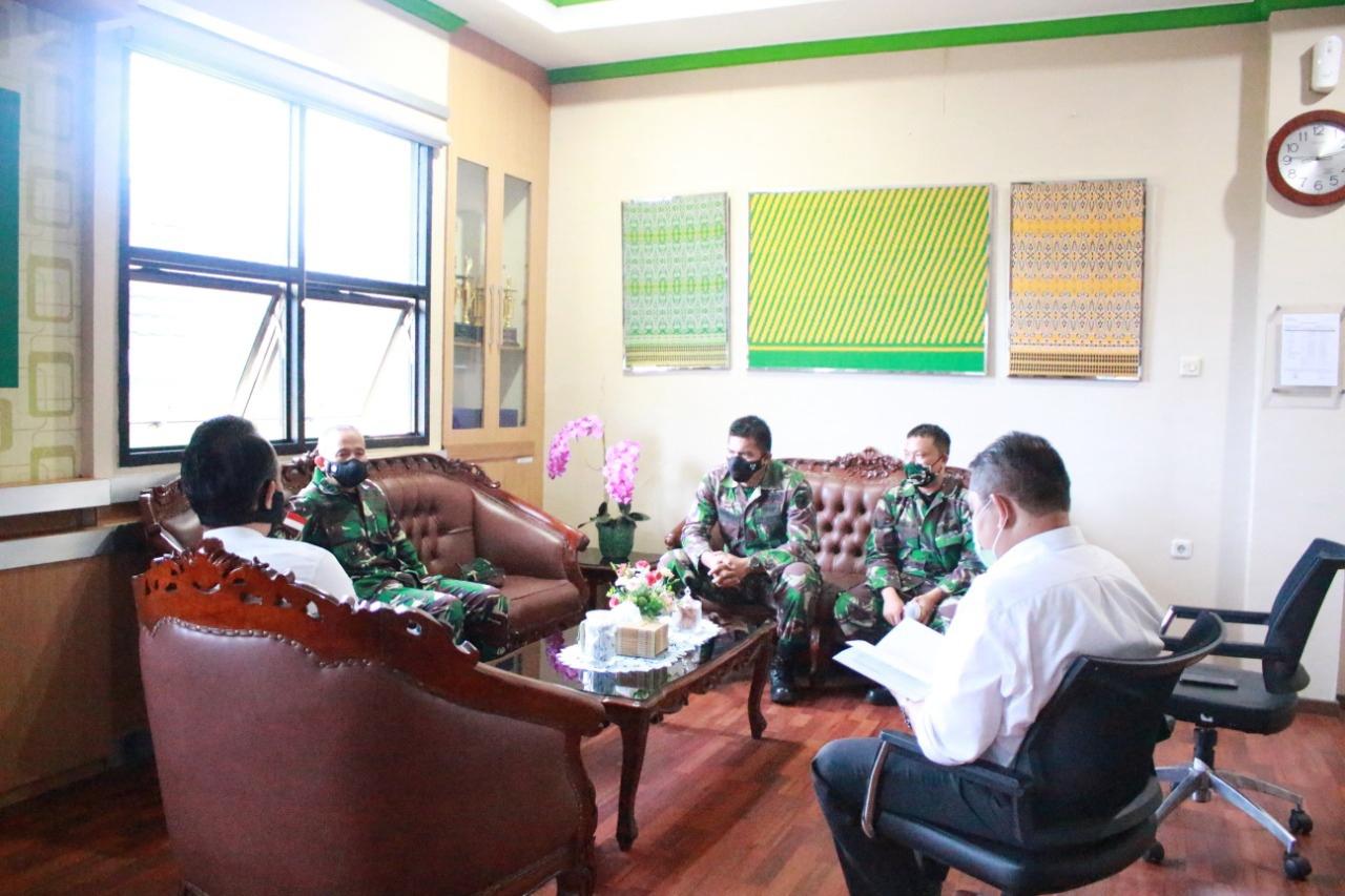Koordinasi Kanwil DJKN Kalbar dan Kodam XII/TPR dalam Pengelolaan Aset