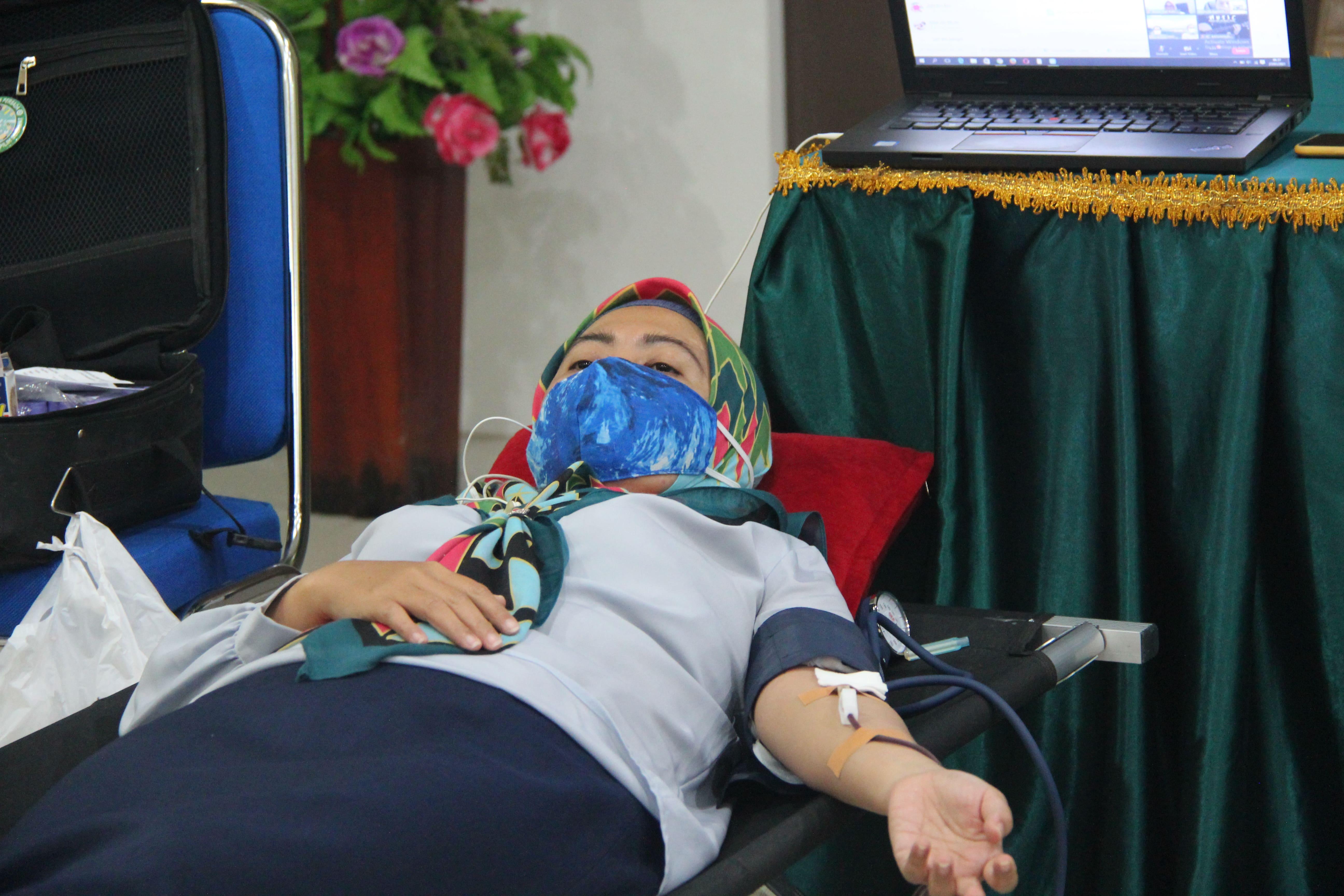 Peduli Sesama, KPKNL Pangkalan Bun Adakan Donor Darah