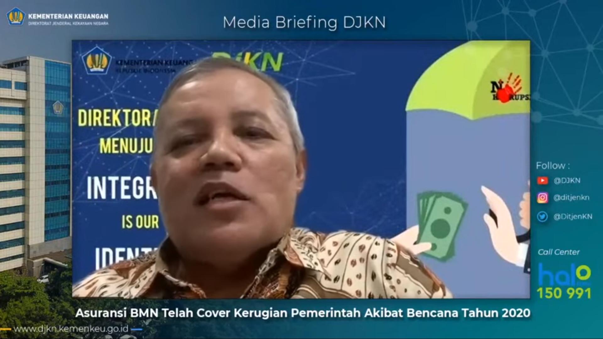 Dampak Gempa Sulawesi Barat Terhadap BMN, Menjadi Perhatian Media Briefing Asuransi BMN